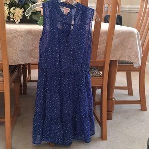 XS blue dress